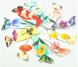 Lesezeichen des Schmetterlings 3D für schönes Geburtstags-Weihnachtsgeschenk-Buch-Zeichen-Büro-Schulbedarf vorzügliches Briefpapierpapier-Bookmarks von Fabrikanten