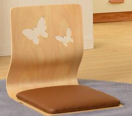 Wholesale Zaisu Wholesaler - (4pcs lot) Custom Made Tatami Zaisu Floor Japanese Chairs Wholesales legless armless for living room or bedroom