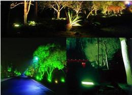 Projectores exteriores on-line-1 pcs Holofote Led RGB 10 W 20 W 30 W 50 W À Prova D 'Água Levou Holofotes Iluminação Ao Ar Livre Paisagem Iluminação Conduziu a Luz de Inundação para o Exterior