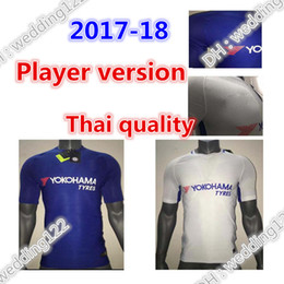 Wholesale Chelsea Player - Wholesale prices Player version 17 18 Chelsea soccer jersey HAZARD PEDRO PATO ZOUMA DIEGO COSTA WILLIAN FALCAO FABREGAS 2017 soccer shirt