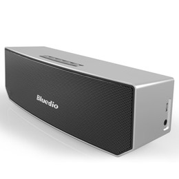 Wholesale Wholesale Home Theater Speakers - Bluedio BS-3 (Camel) Mini Bluetooth speaker Portable Wireless speaker Home Theater Party Speaker Sound System 3D stereo Music