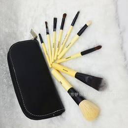 Wholesale Synthetic Hair Wholesale Prices - B**BI BROWN Makeup Brushes Set 9 PCS Brand Make Up Brushes Sets Professional Blush Eyeshadow Brush Tool Kits Cheap Price