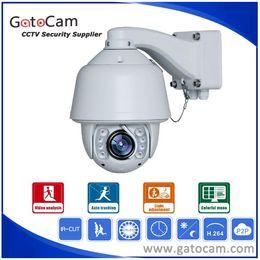 Wholesale Dome Ptz - 30x Zoom 700TVL Outdoor Waterproof Auto Tracking PTZ Camera SONY CMOS Outdoor Dome Analog PTZ Camera