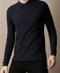 Wholesale Polo Xxl Long Sleeve - Top Quality 2016 New Men Long Sleeve Polo Shirt Classic Men Polo Solid Color Cotton T-shirt Free Shipping S-XXL