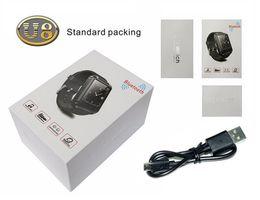 Wholesale Wrist Barometer - 1.44inch Touch Screen U8 Watch Phone Bluetooth Smartwatch Phone Support Music Player Pedometer Barometer For Smart Phone