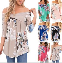 Wholesale Cheap Printed Shirts - Fashion Cheap women's prints T-Shirts Casual Clothing long Sleeve T shirt Female Loose Fit Tops Shirts