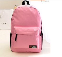 Wholesale Choose Computer - 2016 hot sale eastpack backpack candy color school bags travel bag computer bags multi-color to choose backpacks for unisex