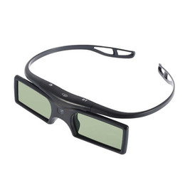 Wholesale Dlp Shutter 3d - Gonbes G15-DLP BT Bluetooth 3D Shutter Active Glasses for Samsung for Panasonic for Sony 3DTVs Universal TV 3D Glasses Newest