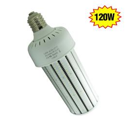 Wholesale Parking Cover - 120 watt LED corn bulb retrofit PC cover 15317lm IP64 outdoor parking lot street light E39 mogul base 6000K 100-277VAC