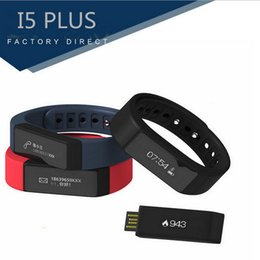 i5 più orologio intelligente Sconti I5 Plus Smart Braccialetto Bluetooth 4.0 impermeabile Touch Screen Fitness Tracker Salute Wristband Sleep Monitor Smart Watch