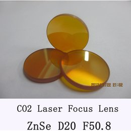 Wholesale Laser Engraving Cutting Machines - co2 laser lens 20mm dia 50.8mm focus for co2 laser for laser engrave and cutting machine