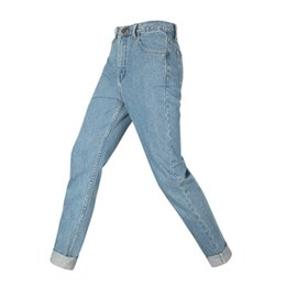 Femmes Vintage Jeans Femmes Femelle Bleu Clair Denim Jeans Slim-Fit Crayon Pantalon Moto Jean Pantalon BSF0326 ? partir de fabricateur