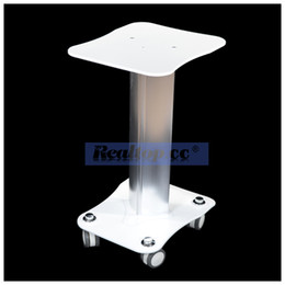 Wholesale ipl machine for salon - Beauty Salon Trolley Styling Pedestal Rolling Cart Aluminum Alloy Stand Holder With 4 Casters for IPL HIFU Cavitation RF Liposonix Machine