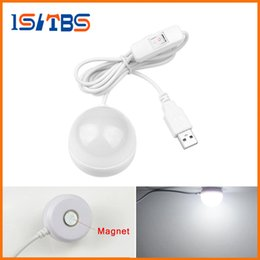 Wholesale Gifts Ceilings - Portable USB Powered LED Night light Desk Book Reading Ceiling lamp For Camping Emergency Bulb gift With Switch ON   OFF