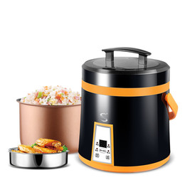 Wholesale Standard Cylinders - Portable 1.6L mini electric rice cooker 110V|220V coking tools Europe American Standard plug C01004