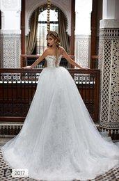 Wholesale Dhgate Crystal Gown - Custom Made Saudi Arabia Vintage Wedding Dresses 2017 Full Lace Style Sleeveless Wedding Gowns DHgate VIP Wedding Dress