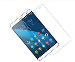 """Wholesale Huawei Tablet Glass - Wholesale-With Tracking For Huawei Honor X2 GM-703L Media pad 7.0"""" tablet Tempered Glass Screen Protector Protective Film"""