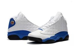Wholesale B 18 - Air Hyper Royal Retro 13 Mens Kids Basketball Shoes Olive Sneakers White blue Black Army Green basket ball Trainer 13s Sports footwear 36-47