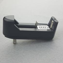 2019 cargador sony vtc4 Cargador de celda de batería Protable 18500 Los cargadores 18500 se adaptan al cargador de pared multifuncional de EE.UU.