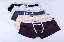 Wholesale High Quality Sexy Lingerie - Men Lingerie Boxer WJ high Quality Men Underwear Trunk Boxers Penis Pouch Ropa Interior Hombre Calzoncillos Marcas Boxer
