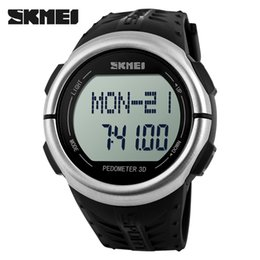 Wholesale Resin Counter - NEW! Fitness Heart Rate Monitor And Pedometer Watch For Men Women Sport Watches Digital Electronic Wristwatches Calories Counter