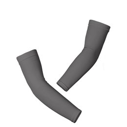 Wholesale Football Arm Pads - Wholesale- Outdoor Sport Long Sleeve Arm Warmers Gym Basketball Football Elbow Pads High Elastic Breathable Arm Warmers