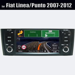 Wholesale Car Stereo Oem - OEM Android Auto Stereo Navigation System Fiat Old Linea Central Entertainment Car Dvd Cd Player 2007-2012