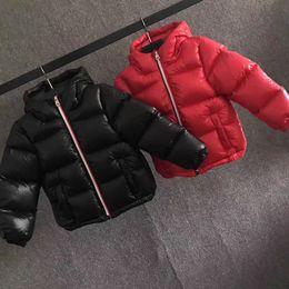Wholesale Girls Red Coats Winter - 2017 Hot Sale Hooded Girls Boys Winter Coat Long Sleeve Boys Winter parka jackets WindProof Children Kids Winter Jacket 4 to 12 Years