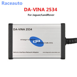 Wholesale Bmw J2534 - 2017 Best Price DA-VINA 2534 V142 For Jaguar LandRover Approved SAE J2534 Pass-Thru Interface Fast Shipping