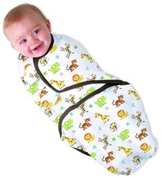 Wholesale Wholesale Diapers For Newborns - Diapers Swaddleme Summer Infant Parisarc 100% Cotton Print Pattern baby Swaddle Wrap Envelope Baby Blacket sleepsack for Newborn Baby