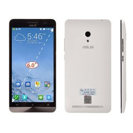 Wholesale Asus Cell Phones - original asus zenfone 6 cell phone 2GB RAM 16GB ROM Android 4.3 Intel Atom z2580 13MP Camera Dual SIM Mobile Phone