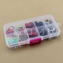 Wholesale Polymer Clay Box - Wholesale-10 Parts Storage Box Accessories Storage Box Polymer Clay Box Removable Assembly Box