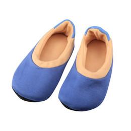 Wholesale Socks Slippers Warm Women - Wholesale-Adult Unisex Warm Slipper Non-Slip Indoor Thicken Floor Socks Soft Socks - A Pair