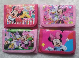 Wholesale Minnie Mouse Cases - Minnie Mouse PURSE 12 pcs Girls' Coin Purse Wallets Money case Kids purse Fashion Party Gift
