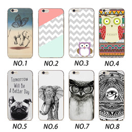 Wholesale Animal Cases For Iphone - Wholecase Animal Simple Design Clear Soft TPU Phone Case For Iphone X 8 7 6 5 SE ,Samsung S6 S7 S8 Edge,Oppo R9 R9S R11,Viov Y66,Xiaomi 4