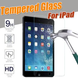 Wholesale Tablet Guard Film - Tempered Glass For iPad Mini 1 2 3 4 iPad Air 5 6 Pro 10.5 Screen Protector HD Explosion Proof Tablet Clear Film Guard Scratch Resistant