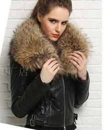 Wholesale Genuine Fur Jackets Coats - NEW ARRIVAL women genuine leather jacket Italy sheepskin with Oversized real raccoon fur collar winter coat
