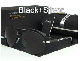 óculos de sol piloto mercúrio Desconto 4 cores de alta qualidade marca Piloto Clássico Polarizada Óculos De Sol mulheres / homens Anti-Reflexo Quadro de liga de revestimento de mercúrio Designer de condução óculos de Sol