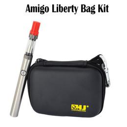 Wholesale Vaporizer Bags - Original Amigo Liberty Tank Amigo Bag Kit Oil Kits 0.5mL  1.0mL 510 Battery 380mAh Bud Touch Vaporizer Pen Kits