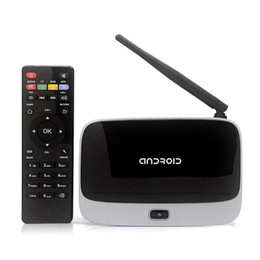 Wholesale Android Tv Pc 2gb - Q7 Installed Bluetooth 2GB 8GB KD Quad Core Android Mini PC CS918 TV BOX WIFI Airplay Miracast VS A95X R1 MXQ PRO