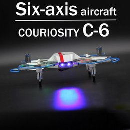 Wholesale remote control toy planes - Zorn toys-rc plane Curiosity C-6 Six-axis aircraft Remote control aircraft , professional toy drones 2.4GHz(720P HD video recording)