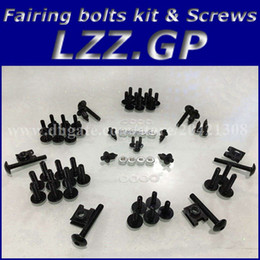 Wholesale Screw Fairings - Fairing bolts kit screws for SUZUKI TL1000R 1998 1999 2000 2001 2002 TL1000R 98 99 00 01 02 fairing screw bolts