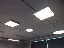 luz de teto plana led Desconto Frete Grátis Quadrado LEVOU Painel de luz 600x600mm SMD3014 40 W 60x60 luzes de teto Projeto de Alumínio Luz Plana + LED Driver