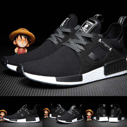 Wholesale Striped Baby Shoes - (With Original Box)Drop Shipping Cheap Famous Color BOOST NMD XR1 x Mastermind Japan Mens Baby, Kids Athletic Shoes Size 7-10