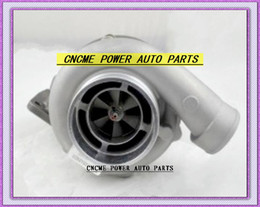 Wholesale V Clamp Exhaust - TURBO GT45 Universal Turbocharger T4 Flange compressor: a r. 70 turbine: a r 1.0 Exhaust Oulet 4'' V-band clamp 500HP
