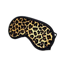 Wholesale Adult Leopard Masks - Hot Leopard Blindfold Eye Mask, Soft Sleeping Mask, Bondage Restraints Sex Products, Adult Sex Toys for Couples 0701