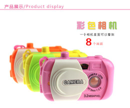 Wholesale Photo Baby Toy - The new children's cartoon simulation projector camera photo baby nursery children's toys wholesale supply stall