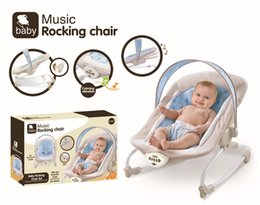 Wholesale Electric Rocking Baby Chair - Fisher-Price Baby electric appease rocking chair with music Smart Swing Technology