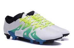 Canada Meysey 's Top X 15.1 FG / AG Football Football Chaussures de gros hommes Artificielle mélangé Ace Broken TF Taille US 6-11 Livraison gratuite cheap artificial grass free shipping Offre