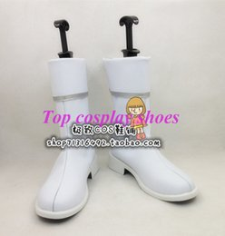 Wholesale Asuna Cosplay Shoes - Wholesale-Sword Art Online Asuna Cosplay Shoes Boots ver five #TS090 Custom made